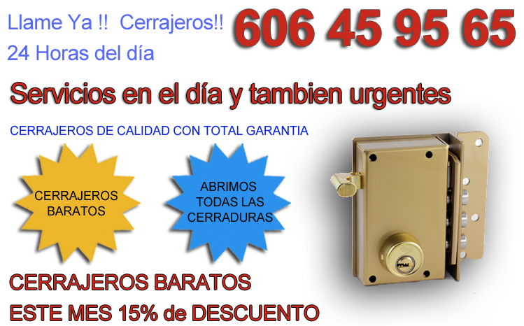 Cerrajeros 24 horas cerrajeros urgentes en todas espa a for Cerrajeros 24 horas zaragoza